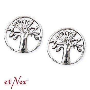 kolczyki TREE OF LIFE, srebro 925 para