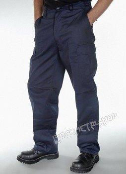spodnie bojówki US RANGER HOSE navy