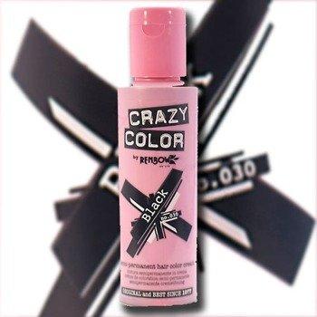 toner do włosów CRAZY COLOR - BLACK [030]