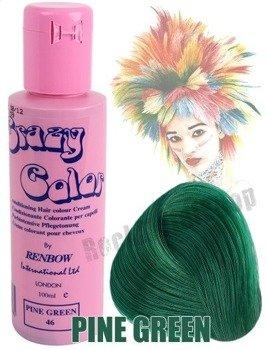 toner do włosów CRAZY COLOR - PINE GREEN