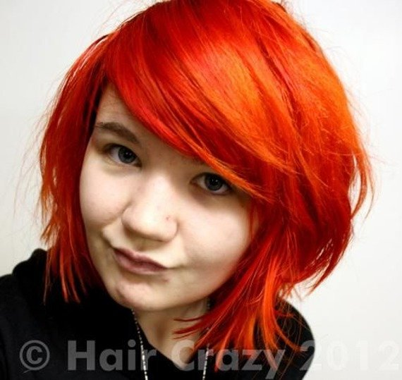 toner do włosów CZERWONY / RED HOT