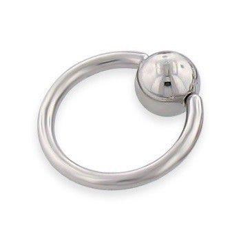KółKO ZAMYKANE KULKą CAPTIVE BEAD RING grubość 1,6mm średnica kulki 5mm