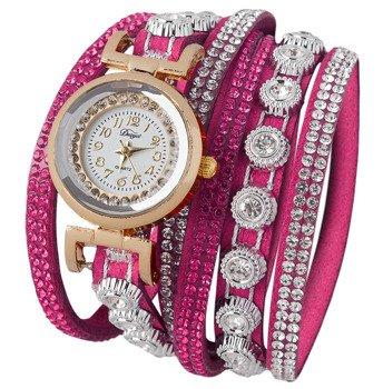 bransoletka/zegarek LUXURY PINK