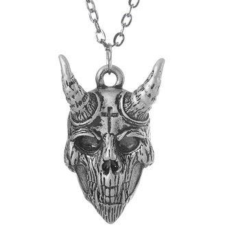 wisior + łańcuch DEVIL