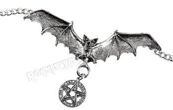 wisior + łańcuch PENTAGRAM - BAT