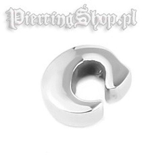 NAKRĘTKA OZDOBNA LITERA C gwint 1,6mm (SC31C)