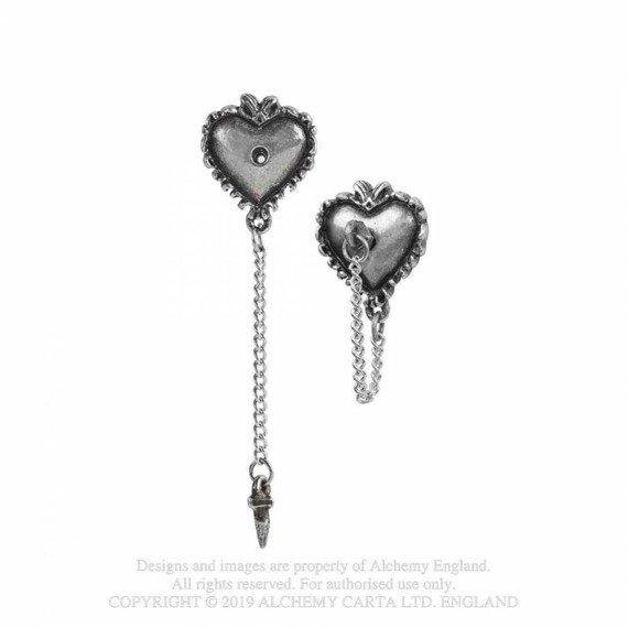 kolczyki WITCHES HEART