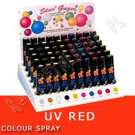 spray koloryzujący UV RED
