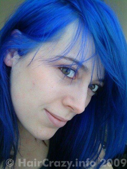 toner do włosów NIEBIESKI ULTRA BLUE