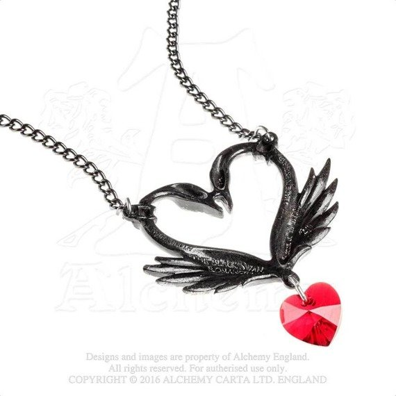 wisior THE BLACK SWAN ROMANCE